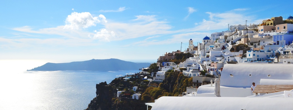 Island hopping in GREECE!